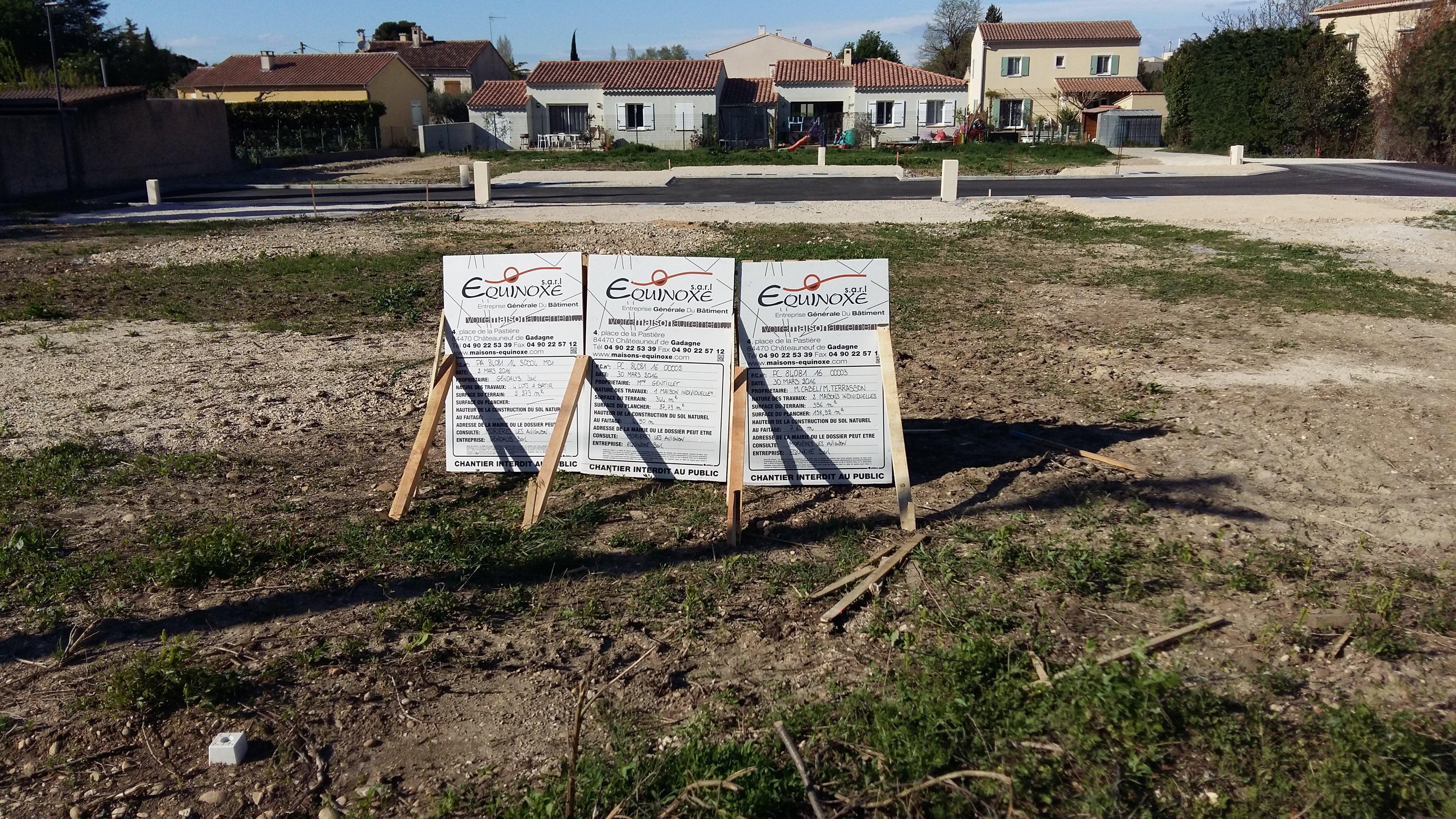 Construction mohamed chloe affichage du permis de for Permis de construction