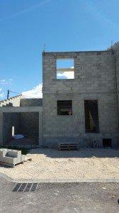 17 fin mur etage 1